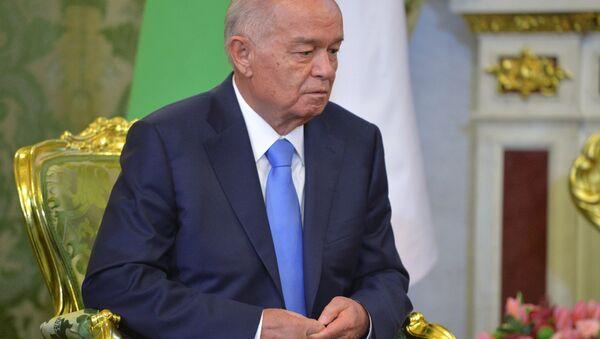 Президент Узбекистана Ислам Каримов. Архивное фото - Sputnik Азербайджан