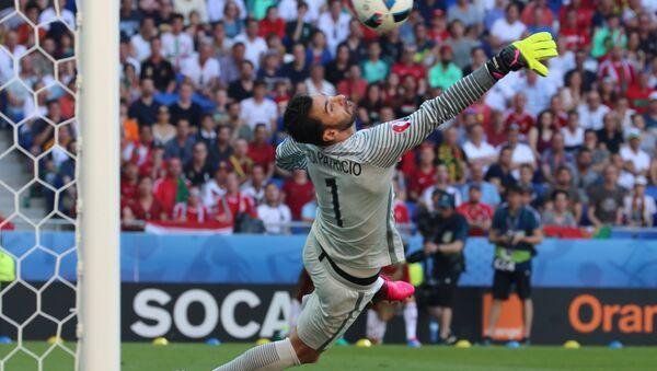 Футбол. Чемпионат Европы - 2016. Матч Венгрия - Португалия - Sputnik Азербайджан