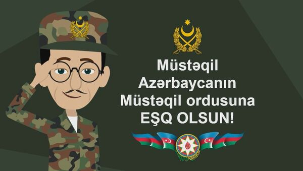 """""""Cəbiş müəllim"""" Azərbaycan silahlı qüvvələrinin yaradılması haqqında - Sputnik Azərbaycan"""