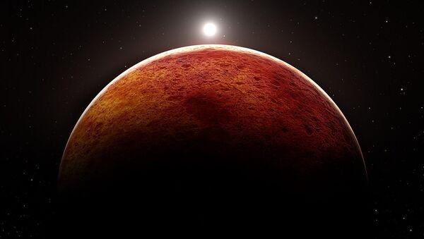 Mars planeti - Sputnik Azərbaycan