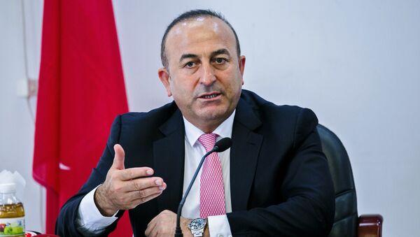 Mövlud Çavuşoğlu, Türkiyənin xarici işlər naziri - Sputnik Azərbaycan