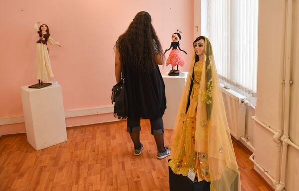 Завораживающая красота кукол Фарах Алиевой - Sputnik Азербайджан