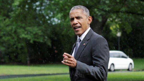 Barak Obama - Sputnik Azərbaycan