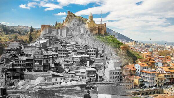 Тбилиси – сто лет назад и сейчас - Sputnik Азербайджан