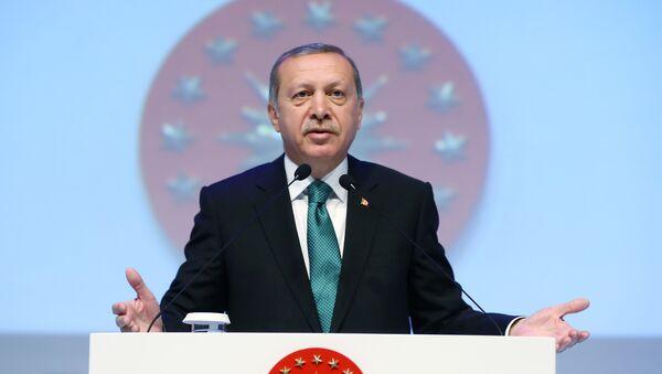 Реджеп Тайип Эрдоган. Архивное фото - Sputnik Азербайджан