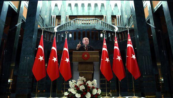 Rəcəb Tayyib Ərdoğan, Türkiyə prezidenti - Sputnik Azərbaycan