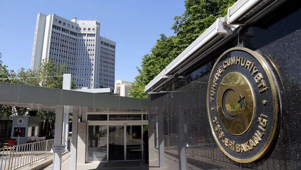 Здание Министерства иностранных дел Турции. Архивное фото - Sputnik Азербайджан