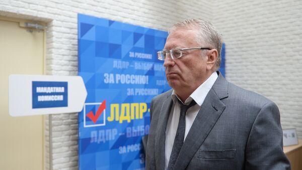Vladimir Jirinovski - Sputnik Azərbaycan