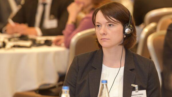Директор представительства рейтингового агентства Fitch по странам СНГ Анастасия Литвинова - Sputnik Азербайджан
