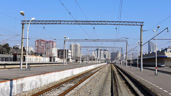Dəmir yolu - Sputnik Azərbaycan