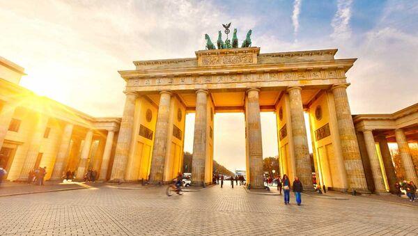 Бранденбургские ворота, Берлин - Sputnik Азербайджан