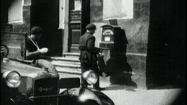 Как работала почта в Москве в 20-е годы прошлого века. Кадры из архива - Sputnik Азербайджан