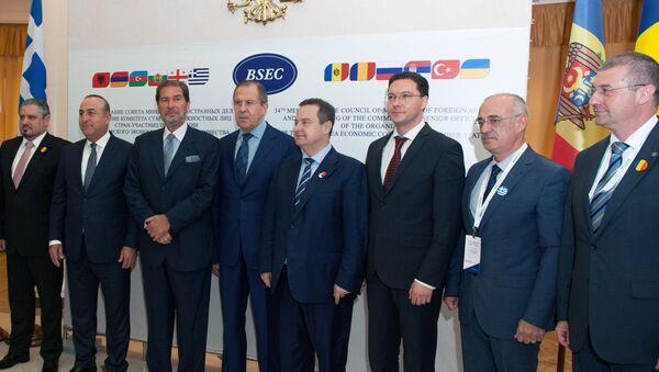 Заседание Совета министров иностранных дел стран-участниц ОЧЭС в Сочи - Sputnik Азербайджан