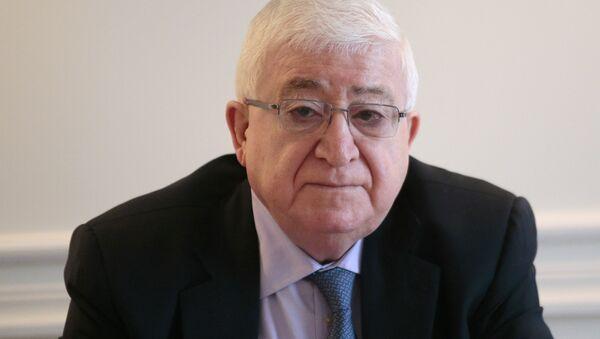 İraq prezidenti Fuad Məsum - Sputnik Azərbaycan