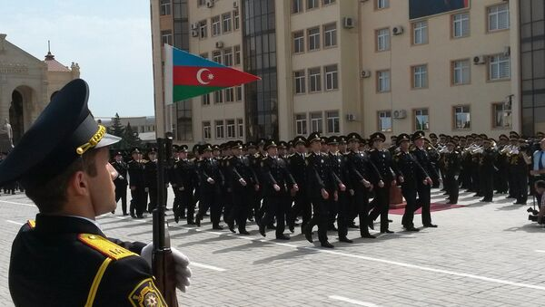 Azərbaycan Polisinin peşə bayramı. Arxiv şəkli - Sputnik Azərbaycan
