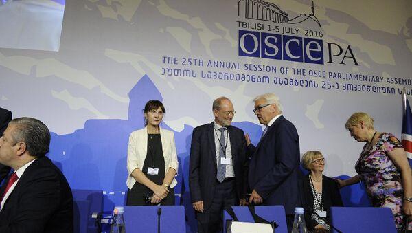 В Тбилиси проводится ежегодная сессия ПА ОБСЕ - Sputnik Азербайджан