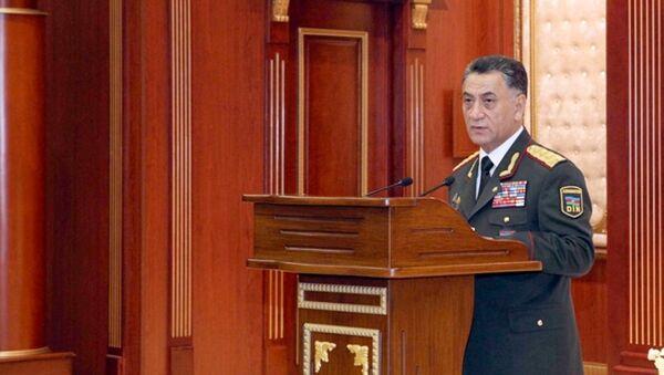 Министр внутренних дел, генерал-полковник Рамиль Усубов - Sputnik Азербайджан