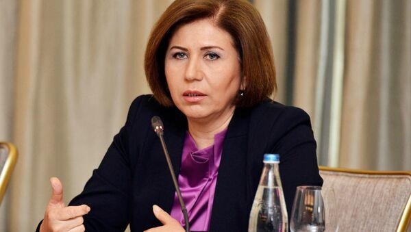 Заместитель председателя Милли Меджлиса АР Бахар Мурадова - Sputnik Азербайджан