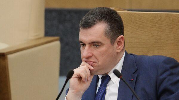 Председатель комитета ГД по делам Содружества Независимых Государств Леонид Слуцкий - Sputnik Азербайджан