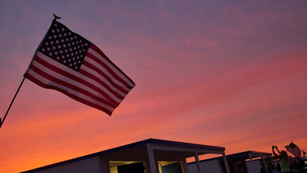 ABŞ bayrağı, arxiv şəkli - Sputnik Azərbaycan