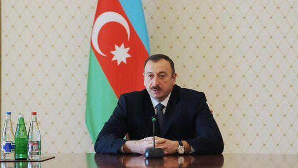 Ильхам Алиев, президент Азербайджанской Республики - Sputnik Azərbaycan