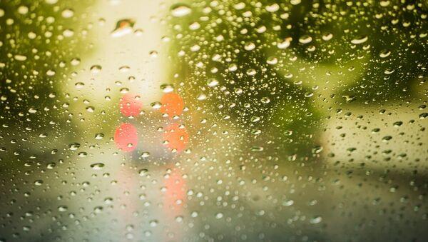 Yağış damcıları. Arxiv şəkli - Sputnik Азербайджан
