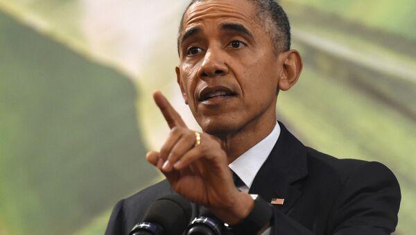 Barak Obama, ABŞ prezidenti - Sputnik Azərbaycan