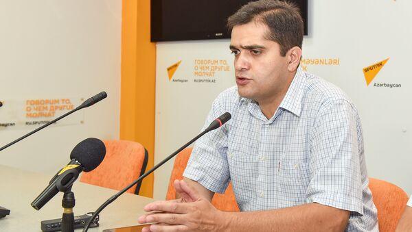 Эльхан Шахиноглу, политолог, руководитель аналитического центра Атлас - Sputnik Azərbaycan