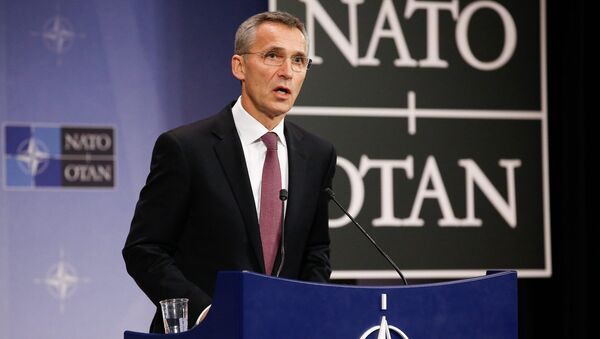 NATO-nun baş katibi Yens Stoltenberq - Sputnik Azərbaycan