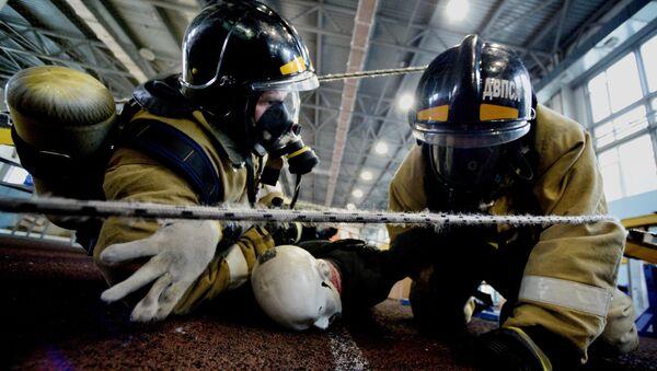 Пожарные - Sputnik Азербайджан