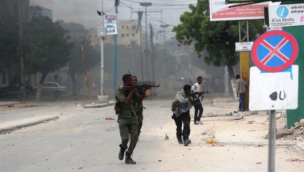 Солдаты правительственных войск Сомали - Sputnik Азербайджан