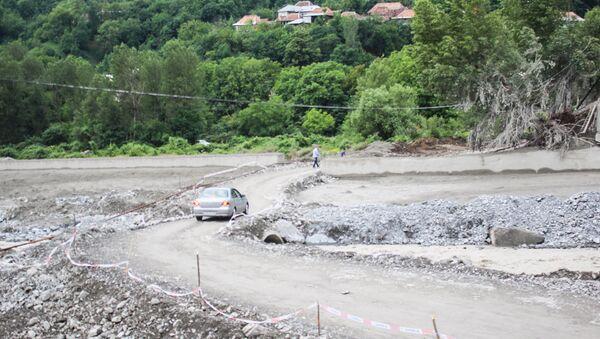 Наводнение на реке Киш, 3 июля 2016 года - Sputnik Азербайджан