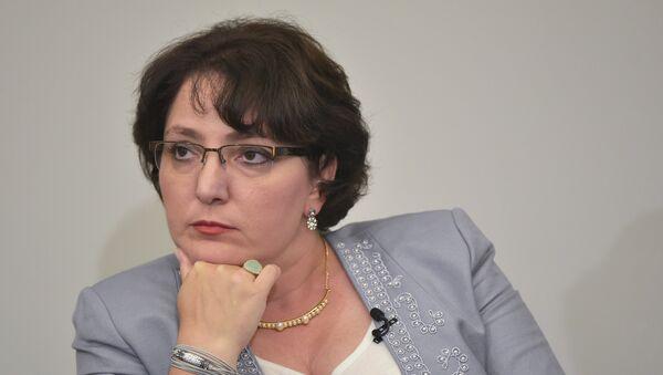 Министр обороны Грузии Тинатин Хидашели. Архивное фото - Sputnik Азербайджан
