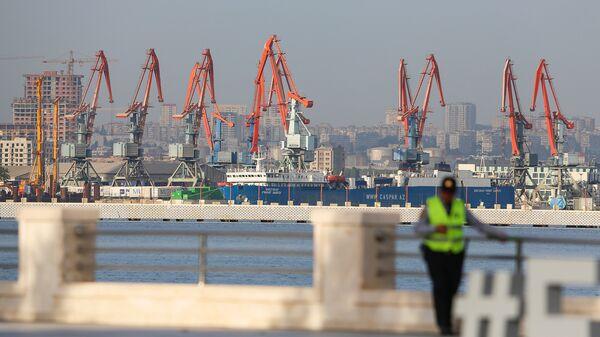 Bakı limanı, arxiv şəkli - Sputnik Azərbaycan