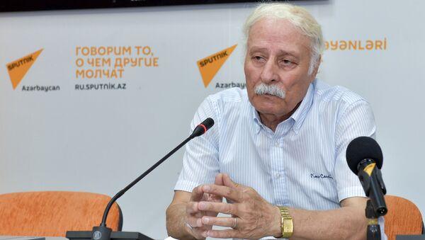 Telman Zeynalov, Milli Ekoloji Proqnozlaşdırma Mərkəzinin rəhbəri - Sputnik Azərbaycan
