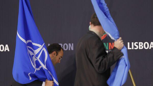 Флаги НАТО - Sputnik Азербайджан