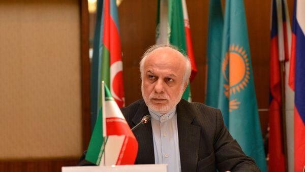 Министр иностранных дел Ирана Ибрагим Рахимпур - Sputnik Азербайджан