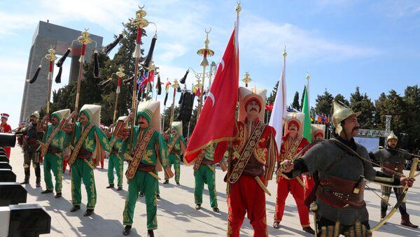 Османский военный оркестр Мехтер - Sputnik Азербайджан