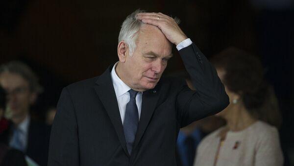 Жан-Марк Эйро, министр иностранных дел Франции. Архивное фото - Sputnik Азербайджан