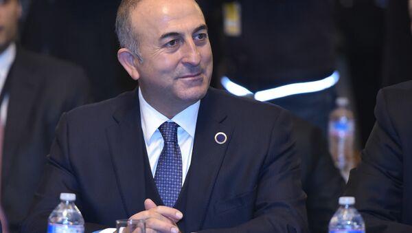 Глава МИД Турции Мевлут Чавушоглу - Sputnik Азербайджан