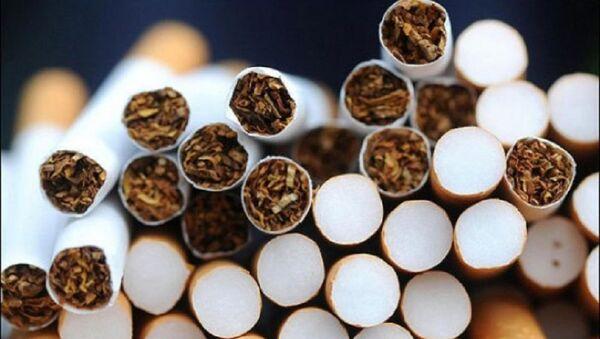 Сигареты. Архивное фото - Sputnik Азербайджан
