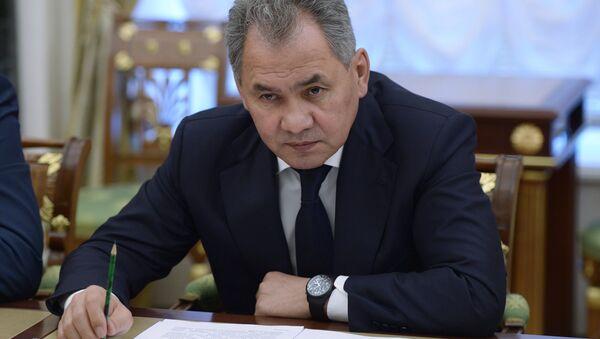 Министр обороны РФ Сергей Шойгу - Sputnik Азербайджан