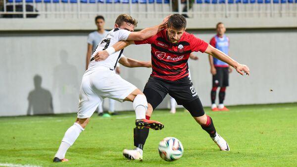 Второй квалификационный матч Лиги Европы. Матч Нефтчи-Шкендия - Sputnik Азербайджан