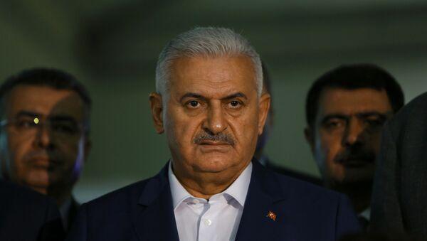 Премьер-министр Турции Бинали Йылдырым. Архивное фото - Sputnik Азербайджан