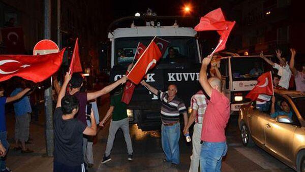 Попытка госпереворота в Турции. Архивное фото - Sputnik Азербайджан