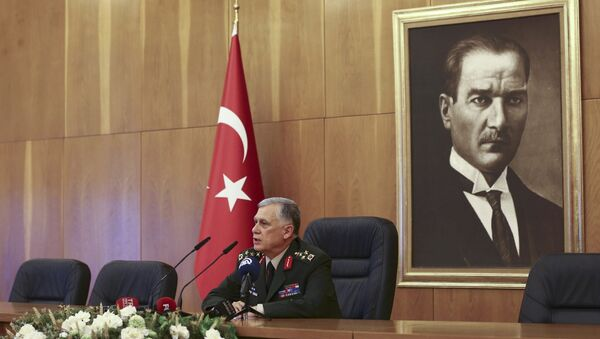 Временный глава Генштаба ВС Турции Умит Дундар - Sputnik Азербайджан