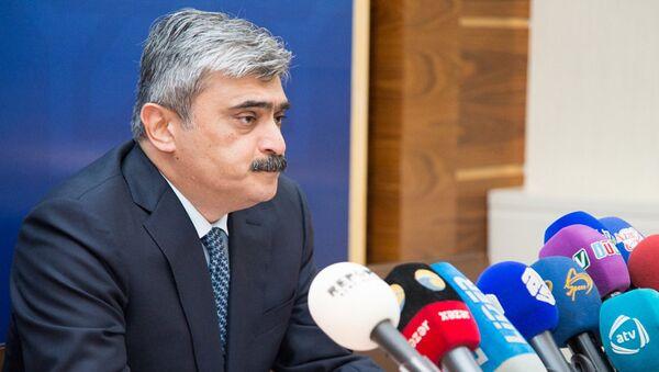 Самир Шарифов, министр финансов Азербайджана - Sputnik Азербайджан