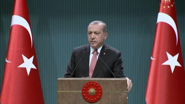 Эрдоган объяснил, для чего в стране вводится чрезвычайное положение - Sputnik Азербайджан