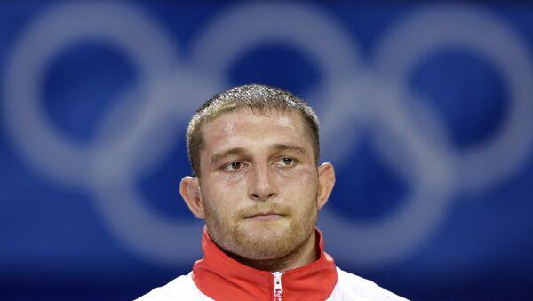 Российский борец Хасан Бароев. Архивное фото - Sputnik Азербайджан