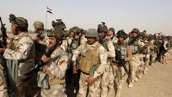 Иракские солдаты - Sputnik Азербайджан